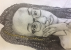 Using the following medias: Pencil, charcoal, oil pastel, soft pastel, acrylic paint, watercolour paint and etc, varying per situation. A student studying Art under cambridge. I will email an image of the finished product :).