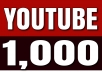 Give 1,000 YouTube Views Retention 30Sec to 4mins