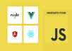 fix and develop javascript, angular, node js, express, jquery, php, mongodb, mysql