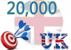 Give you 20,000 UK Website Traffic