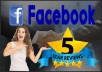 give you Outstanding 5 Facebook Reviews [Real & Human safe]
