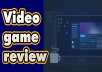 review steam game