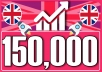 Drive 150,000 UK-USA traffic to your site