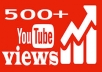 Give You High Quality 500+YOUTUBE views