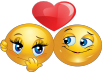provide 200 love emoticons on facebook post