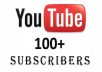 Promote Youtube channel and deliver 100+ real and permanent subscribers