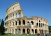 take a picture and a video in front of one of the most famous monuments in the world the COLISEUM in rome