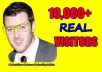 Give you 10,000 Guaranteed USA Visitors to your site with proofs       5$