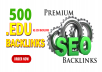 Boost Search Rankings With 500 Powerful High DA .EDU Backlinks