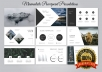 Create beautiful and interactive PowerPoint presentations for presentations.