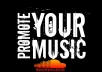 do ultra promotion for your music or song to my 500,000 social media fans