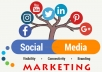 do social media marketing