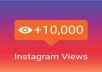 Provide 10K Instagram Video Views Worldwide
