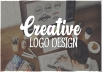 work on your modern logo design project