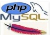 install and configure your php script