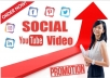 do fast social youtube video promotion