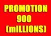COOLNESS!!! GREATEST SOCIAL PROMOTION SERVICE.ORDER NOW AND ENJOY. Want to Promote/Advertise your Business,Website,Apps,E-Books,Photo,Affiliate links,Products,YouTube,E Bay/Amazon Items and Products,Shop,Facebook page,Video or Any other Link?We will share your link with more than 900,998,608 (900 MILLIONS)  real and Active people friends, followers,Groups and fans. For More Expose and Maximum Effect,