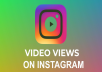 These views only for Instagram TV Videos!