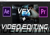 I will do any VFX/Video Editing you need in 1080p or 4k. I use Premiere Pro, After Effects, and Blender to create VFX and to do video editing.