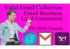 collect targeted, place niche base email using linkedin sales navigator