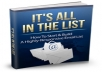 give you this high quality e-book, It's  All in the lists