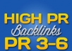 show you how to get unlimited actual page PR3 to 6 backlinks