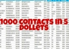 Do data collection and find contacts email list