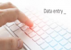 do data entry for your