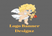 Design logo or social media banner or blog graphics for your websites