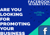 promote your business through facebook