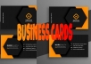 Create stunning business cards