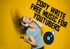Provide copy write free music