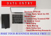 do data entry services for you