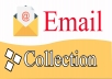 Do Email scrapping, data entry and file conversion