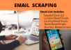do Email collection for your online marketing