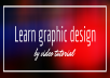 I WILL PROVIDE YOU LINK YOU CAN DOWNLOAD VIDEOS AND LEARN GRAPHIC DESIGNING AND ALSO PROVIDE ONE SOFTWARE FREE FROM THIS GIG