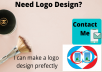 design a professional logo perfectly within 6 hours