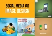 design attractive Facebook and Instagram ads
