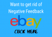 remove eBay negative feedback