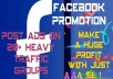 Promote your Ads on heavy traffic Facebook groups