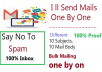 do bulk mailing email marketing one by one direct inbox