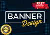 design professional web banners, google ads, fb covers