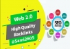 provide 20 web 2 0 SEO backlinks