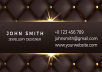 design a Business card in professionally for your business