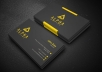 design professional business cards.