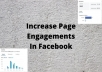 give 100+ Facebook page like the