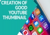 create professional thumbnail for your YouTube channel