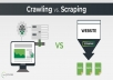do web scraping, data extracting, database or lead generation