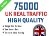drive organic UK targeted traffic google bing twitter