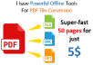 convert scan or pdf files into editable word or excel sheets